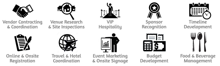 Event Management Vectors