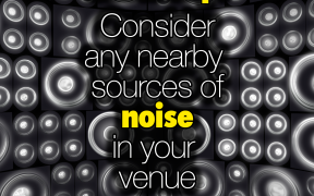 Event Tip: Noise