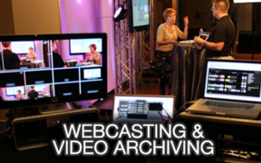 Service Spotlight: Webcasting & Video Archiving
