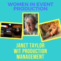 Women in Event Production: Janet Taylor