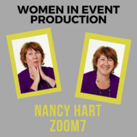 Women in Event Production: Nancy Hart, Zoom.7 Meetings and Events